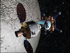Луна космический корабль